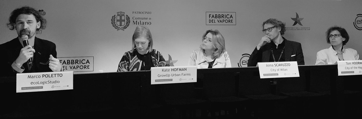 Urban Food focus at Climate Innovation Summit 2017, Milan
