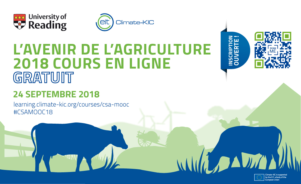 CSAb launches popular climate-smart agriculture online course in German, French and Chinese